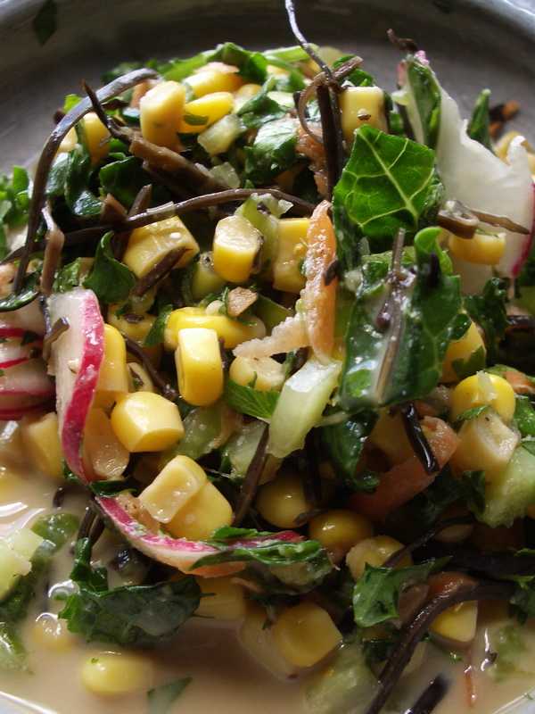 Arame summer salad