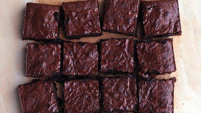 Medium spelt brownies