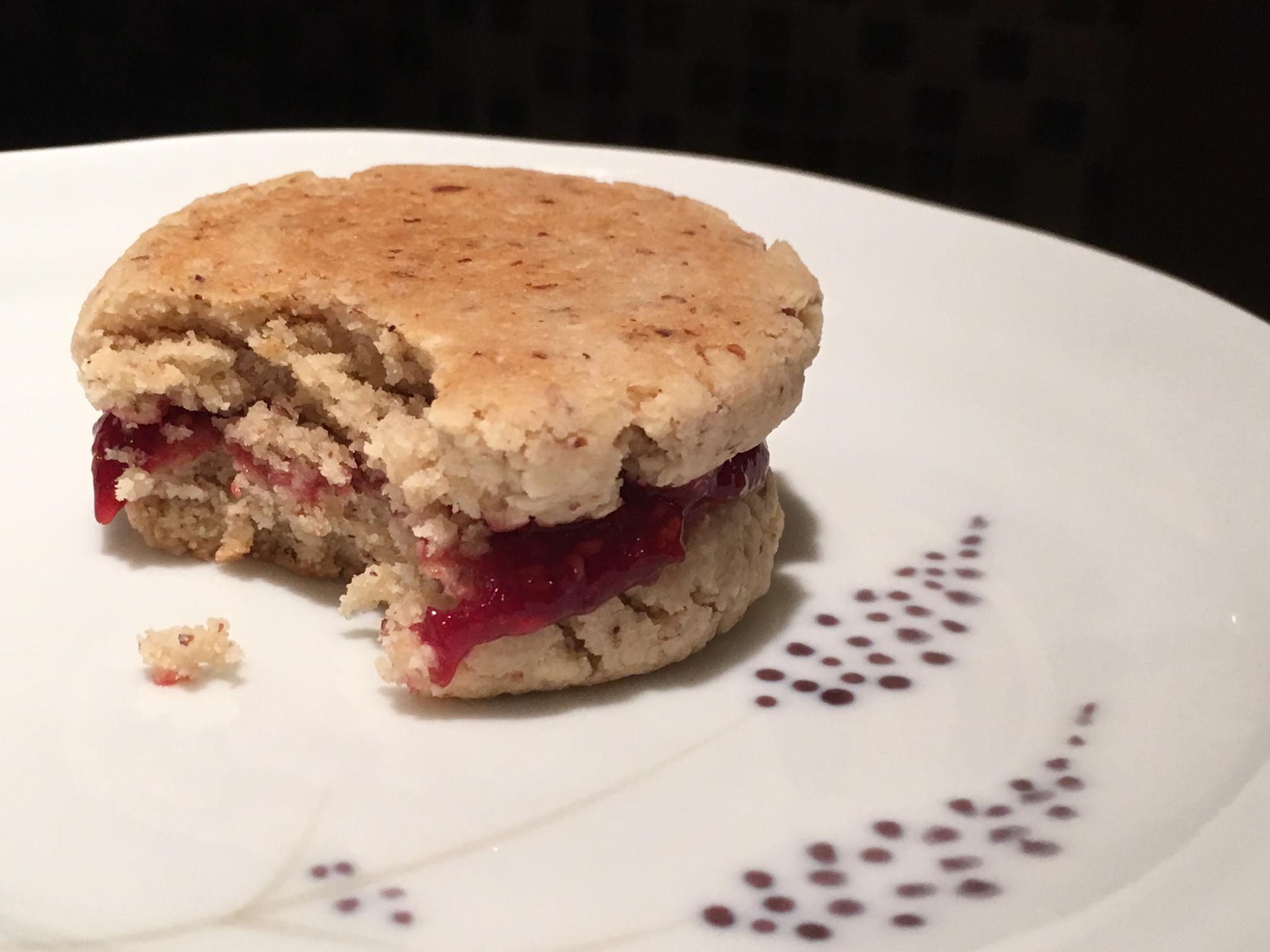 Raspberryalmondcookie
